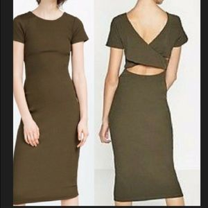 Zara Bodycon Midi Dress
